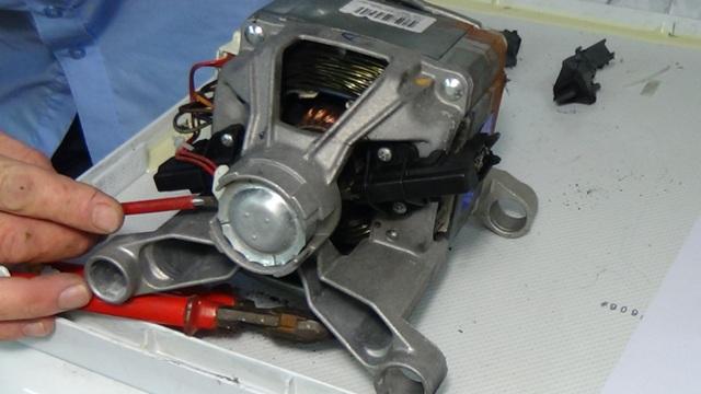 Ремонт и замена двигателя в стиралке