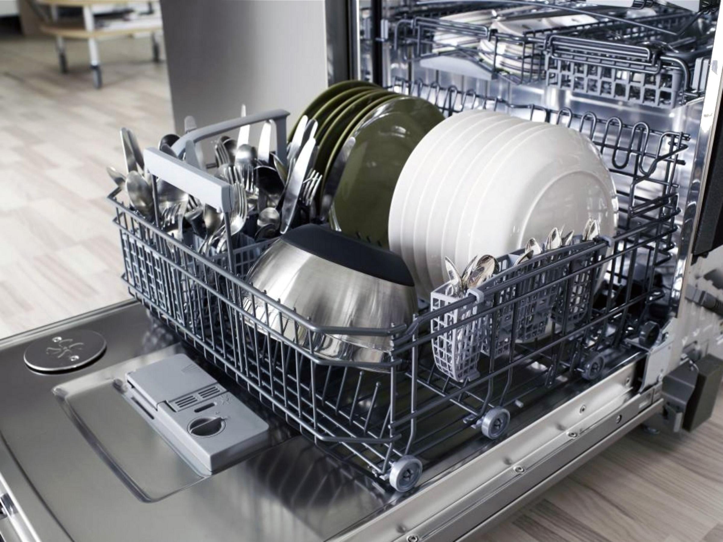 Как отремонтировать посудомойку